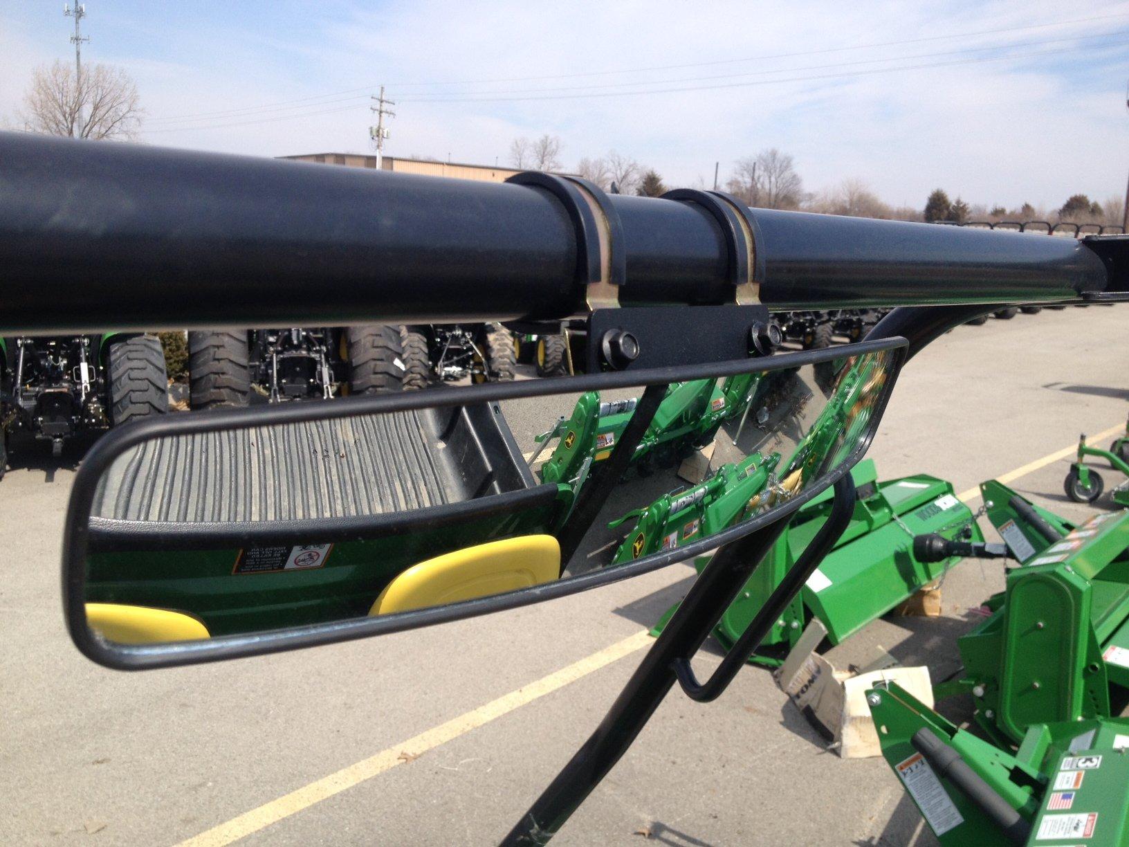 Kubota Tractor Rear View Mirror : Quot panoramic rear view mirror for john deere utvs
