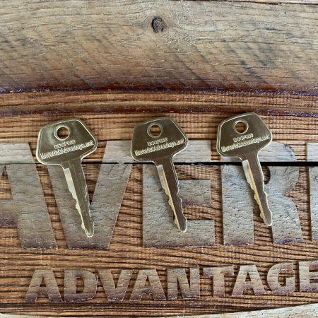 3 Keys - Daewoo, Doosan F900, Bobcat E80, K2009605