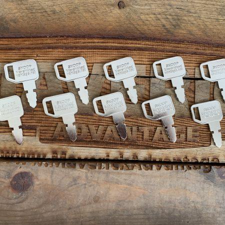 10 Keys - John Deere Skid Steer, KV13427, T209428, Compact Loader